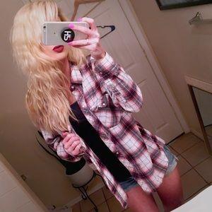 💘 Lucy Boyfriend Flannel Shirt